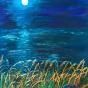 """20.09.2018 / Тема """"Лунная ночь"""" в Библиотеке Удельнинской (Группа №1)"""