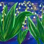 """15.11.2018 / Тема """"Ландыши"""" в Библиотеке Удельнинской (Группа №1)"""