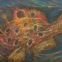 """11. 2020 / """"Волосатая рыба-клоун"""". Автор работы: Патрикеева Дарья (7 лет)"""
