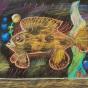 """11. 2020 / """"Волосатая рыба-клоун"""". Автор работы: Мулгачева Инна (10 лет)"""