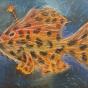 """11. 2020 / """"Волосатая рыба-клоун"""". Автор работы: Тарасова Анастасия (10 лет)"""