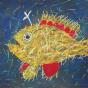 """11. 2020 / """"Волосатая рыба-клоун"""". Автор работы: Федорова Алиса (10 лет)"""