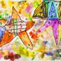 """12. 2020 / """"Морские звезды"""". Автор работы: Сергеева Надежда (4 года)"""