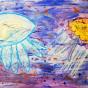 """12. 2020 / """"Медузы"""". Автор работы: Сергеева Анастасия (8 лет)"""