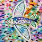 """28.01.2020 / """"Летучая рыба"""". Автор работы: Ижболдина Мария (8 лет)"""