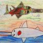 """04.02.2020 / """"Рыба-пила"""". Автор работы: Морозова Елизавета (8 лет)"""