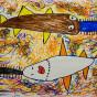 """04.02.2020 / """"Рыба-пила"""". Автор работы: Ижболдина Маргарита (6 лет)"""