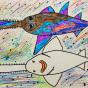 """04.02.2020 / """"Рыба-пила"""". Автор работы: Ижболдина Мария (8 лет)"""