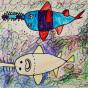 """09.02.2020 / """"Рыба-пила"""". Автор работы: Шипулина Маргарита (7 лет)"""