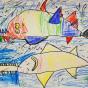 """09.02.2020 / """"Рыба-пила"""". Автор работы: Соловьёва Александра (6 лет)"""