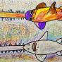 """09.02.2020 / """"Рыба-пила"""". Автор работы: Кляшторный Андрей (9 лет)"""