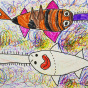 """09.02.2020 / """"Рыба-пила"""". Автор работы: Васильева Анна (6 лет)"""