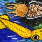 """12.02.2020 / """"Кальмар и каракатица"""". Автор работы: Ижболдина Мария (8 лет)"""