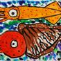 "16.02.2020 / ""Кальмар и каракатица"". Автор работы: Кляшторный Андрей (9 лет)"