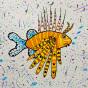 """25.02.2020 / """"Крылатка-зебра"""". Автор работы: Ижболдина Мария (8 лет)"""