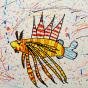 """25.02.2020 / """"Крылатка-зебра"""". Автор работы: Ижболдина Маргарита (6 лет)"""