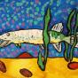 """26.02.2020 / """"Щука"""". Автор работы: Сергеева Анастасия (7 лет)"""