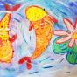 """29.02.2020 / """"Карпы"""". Автор работы: Сергеева Анастасия (7 лет)"""