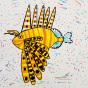 """01.03.2020 / """"Крылатка-зебра"""". Автор работы: Кадакова Анна (9 лет)"""