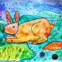 """09.07.2020 / """"Кролик"""". Автор работы: Патрикеева Дарья (6 лет)"""