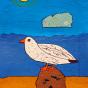 """09.09.2020 / """"Чайка"""". Автор работы: Сергеева Анастасия (8 лет)"""