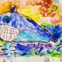 """22.09.2020 / """"Кит"""". Автор работы: Сергеева Надежда (4 года)"""