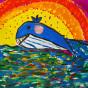"""22.09.2020 / """"Кит"""". Автор работы: Сергеева Анастасия (8 лет)"""