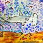 """10. 2020 / """"Рыба-молот"""". Автор работы: Сергеева Анастасия (8 лет)"""