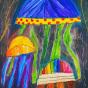 """11. 2020 / """"Медузы"""". Автор работы: Патрикеева Дарья (7 лет)"""
