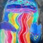 """11. 2020 / """"Медузы"""". Автор работы: Савкина Олеся (7 лет)"""