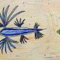 """11. 2020 / """"Голубой дракон"""". Автор работы: Кузнецов Сергей (7 лет)"""