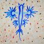 """11. 2020 / """"Голубой дракон"""". Автор работы: Федорова Алиса (10 лет)"""