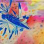 """11. 2020 / """"Голубой дракон"""". Автор работы: Кандаева Анна (5 лет)"""