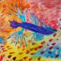 """11. 2020 / """"Голубой дракон"""". Автор работы: Ижболдина Маргарита (7 лет)"""