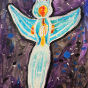 """01. 2021 / """"Морской ангел"""". Автор работы: Кузнецов Сергей (7 лет)"""