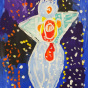 """01. 2021 / """"Морской ангел"""". Автор работы: Кандаева Анна (5 лет)"""