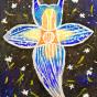 """01. 2021 / """"Морской ангел"""". Автор работы: Федорова Алиса (10 лет)"""
