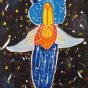 """01. 2021 / """"Морской ангел"""". Автор работы: Кляшторный Андрей (10 лет)"""