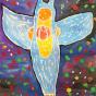"""01. 2021 / """"Морской ангел"""". Автор работы: Ижболдина Мария (10 лет)"""