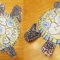 """02. 2021 / """"Морская черепаха"""". Автор работы: Сергеева Надежда (4 года)"""