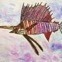 "02. 2021 / ""Рыба-парусник"". Автор работы: Сергеева Анастасия (8 лет)"