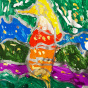 """03. 2021 / """"Морской конек"""". Автор работы: Сергеева Надежда (4 года)"""