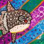 """04. 2021 / """"Рыба-луна"""". Автор работы: Сергеева Анастасия (8 лет)"""