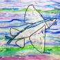 """04. 2021 / """"Летучая рыба"""". Автор работы: Сергеева Анастасия (8 лет)"""