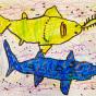 """04. 2021 / """"Рыба-пила"""". Автор работы: Сергеева Надежда (4 года)"""