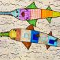 """04. 2021 / """"Рыба-пила"""". Автор работы: Сергеева Анастасия (8 лет)"""