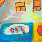 """30.09.2017 / """"Клубника"""" в Творческой студии. Автор работы: Токаюк Дорин (9 лет)"""