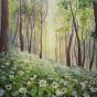 """11.2020 / """"Таинственный лес"""" (акрил). Автор: Евстигнеева Анна Германовна"""