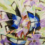 """11.2020 / """"Бабочки"""" (акрил). Автор работы: Паляруш Людмила Васильевна"""