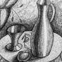 "11.2020 / ""Натюрморт"" (графика). Автор работы: Серебрякова Ирина Леонидовна"